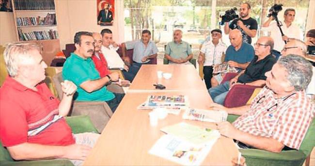 Başkan Çetin'den çat kapı ziyaretler