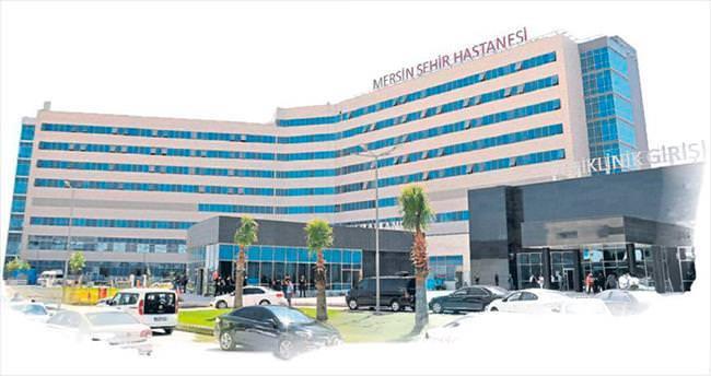 Mersin Şehir Hastanesi açılış için gün sayıyor