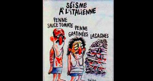 Charlie Hebdo yine saçmaladı