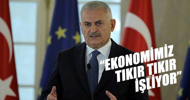 'Ekonomi tıkır tıkır işliyor'
