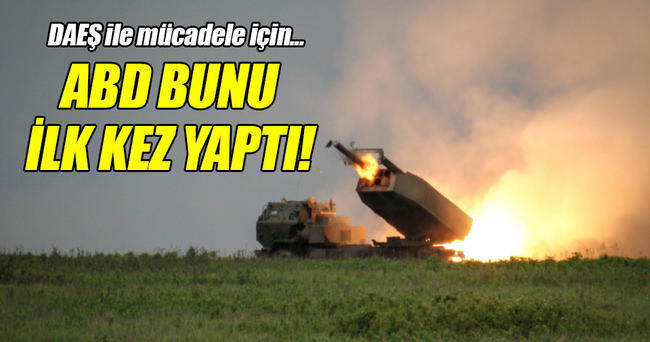 ABD, Türkiye'den DAEŞ'i vurdu!