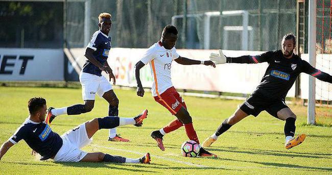 Galatasaray hazırlık maçında Boluspor ile karşılaştı