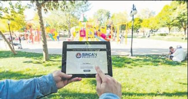 Parklar da ücretsiz internet de şahane