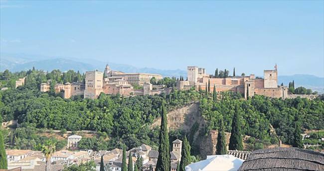 Avrupa'da büyümüş bir Arap kızı Granada