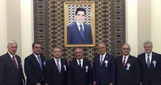 DEİK Başkanı Halil Avcı Türkmenistan'da