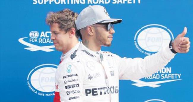 Monza fatihi Lewis Hamilton