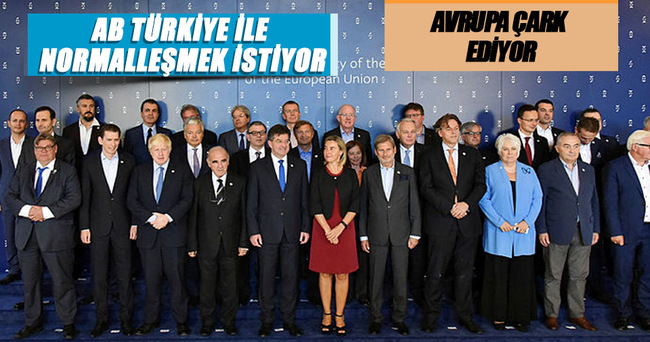 AB, Türkiye ile normalleşmek istiyor