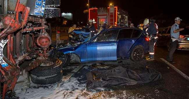 Çağlayan'da feci kaza: 2 ölü, 2 yaralı