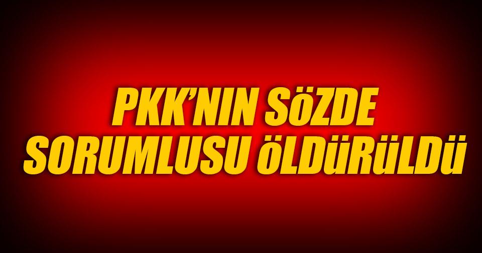 PKK'nın sözde yöneticisi etkisiz hale getirildi