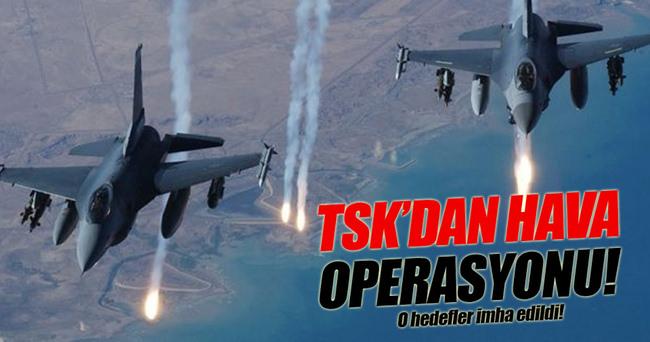 TSK'dan Çukurca'ya hava harekatı!