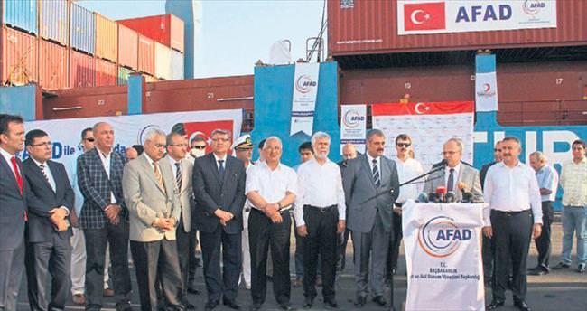 İkinci yardım gemisi Gazze'ye demir attı