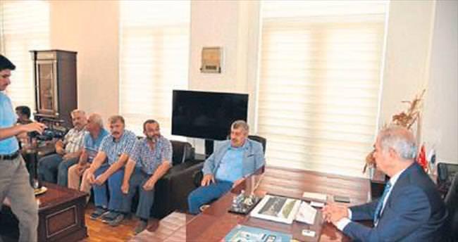 Sanayi sitesi esnafından Başkan Kadir Kara'ya ziyaret