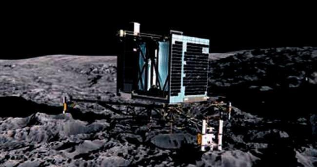 Rosetta fotoğrafları dünyaya ulaştırdı