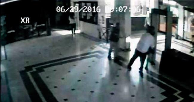 Müfettişin sıktığı kurşunlar kamerada