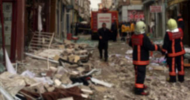 Zonguldak'ta doğalgaz patlaması