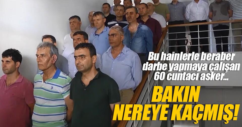 Kaçak 60 darbeciyi PYD'liler o ülkeye kaçırmış!
