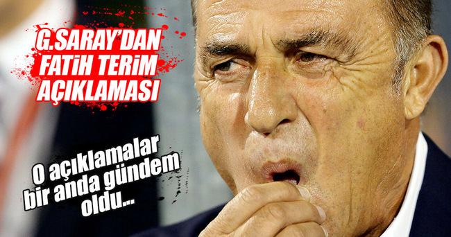 Dursun Özbek'ten Fatih Terim açıklamaları