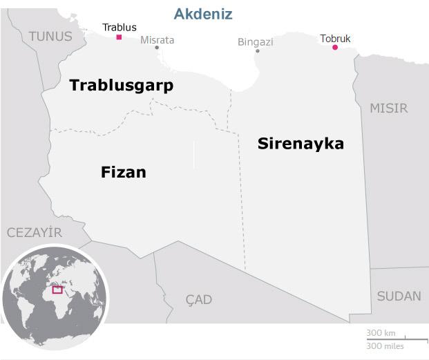 ABD'den peçeteye çizilen haritayla' Libya'yı Osmanlı sınırlarına döndürme planı' 88