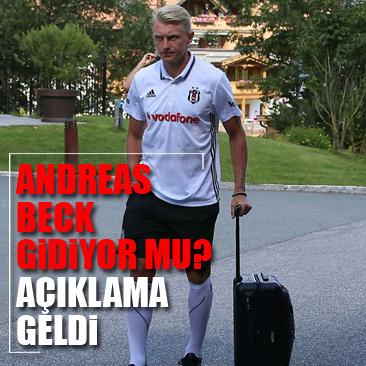 Andreas Beck'ten transfer açıklaması