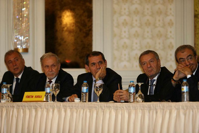 Galatasaray UEFA'ya gitti