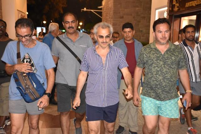 Suudi prens özel uçağıyla Nusret i Bodrum'a getirtti