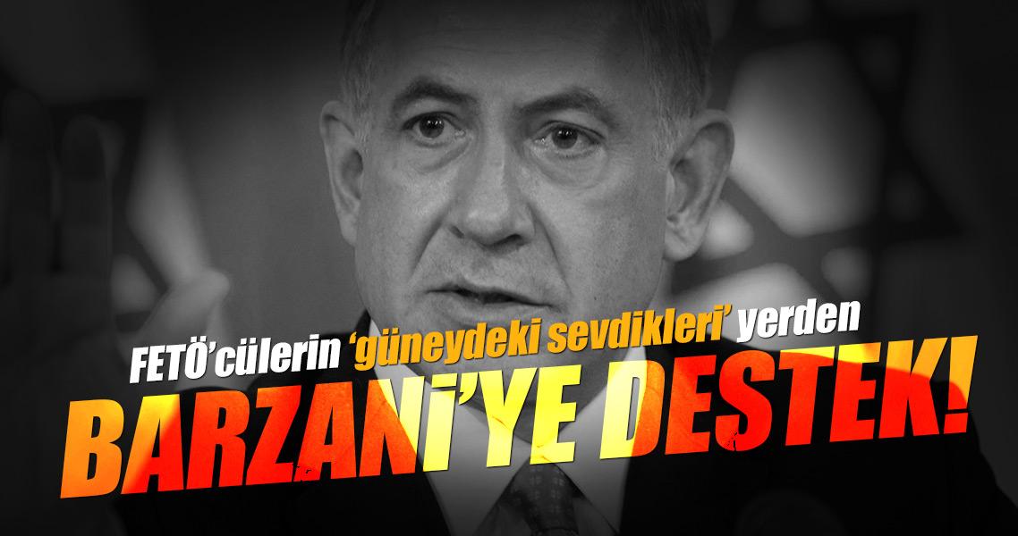 İsrail'den Barzani'nin kaos projesine destek