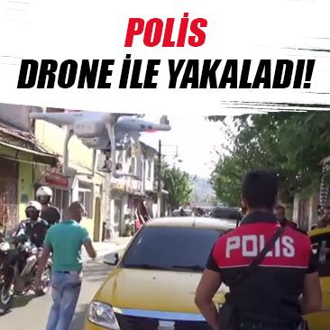 20 kilo esrarı polis quot drone quot u buldu
