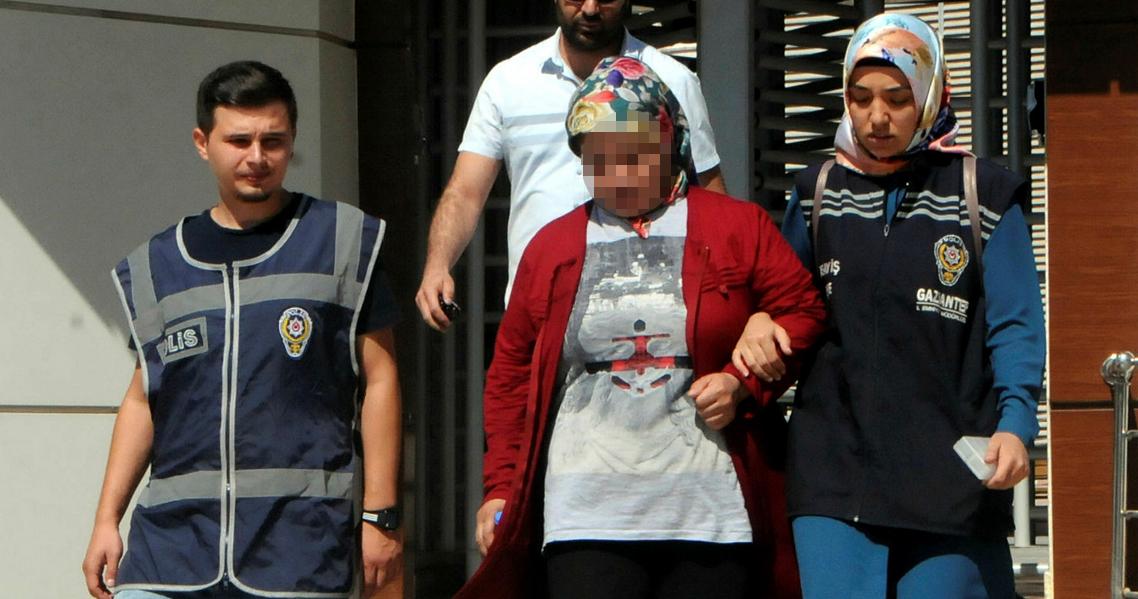 Temizlediği villadan 200 bin liralık altın çalan kadın yakalandı