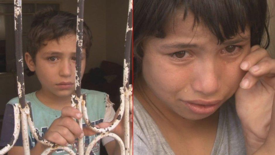 Adana'da anne terk etti baba işe gitti aç kalan Suriyeli