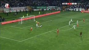 Bursaspor: 2 - Galatasaray: 3