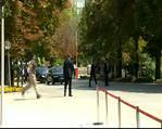 Davuto�lu ve Ak Parti'li milletvekilleri mecliste