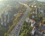 İstanbul trafiği havadan böyle görüntülendi