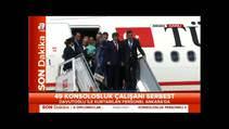 Rehineler Ankara'da ailelerine kavu�tu