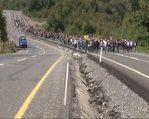 """Maden işçilerinden """"ekmek"""" protestosu"""