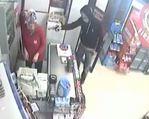 Silahlı market soygunları kamerada