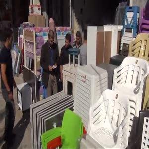 Kobanililer'e 5 bin adet sünger satıldı