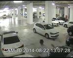 Lüks otomobil hırsızı böyle görüntülendi