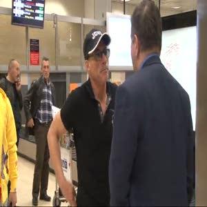 Jean Claude Van Damme İstanbul'da
