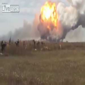 Rus yanlıları fabrikayı havaya uçurdu