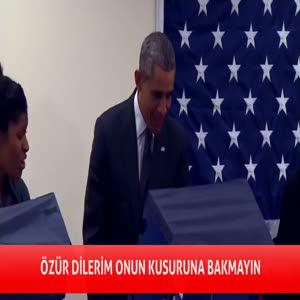 Obama'yı uyardı: Sevgilime dokunma