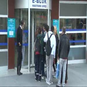 Bakırköy Devlet Hastanesi'nde 'ebola' alarmı