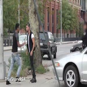 Polisin Müslüman fobisi böyle görüntülendi
