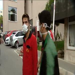 İbni Sina Hastanesi'nde yangın