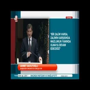 Davutoğlu Kılıçdaroğlu'na cahil dedi