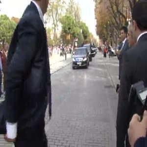 Abdullah Gül'e Sultanahmet'te yoğun ilgi