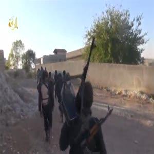 IŞİD Kobani sokaklarında böyle görüntülendi