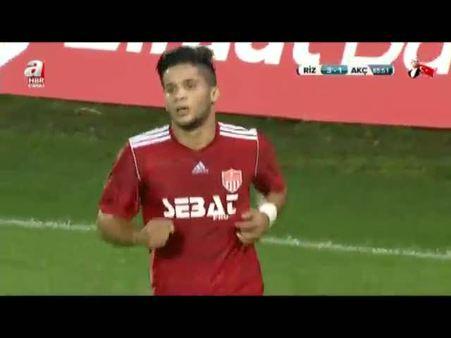 Ç. Rizespor: 3 - Trabzon Akçaabat: 1