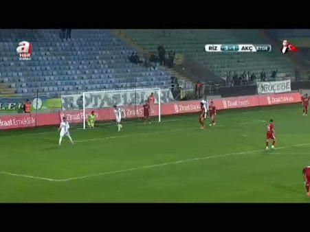 Ç. Rizespor: 4 - Trabzon Akçaabat: 1