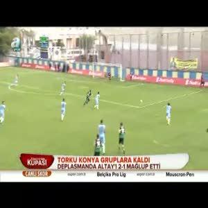 Altay: 1 - Torku Konyaspor: 2 (Özet)