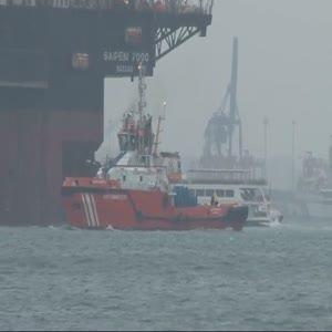 Dev gemi İstanbul Boğazı'ndan geçiş yaptı